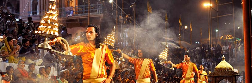 See Vanarasi Ganga Aarti - Maharajas Express Tour Packages