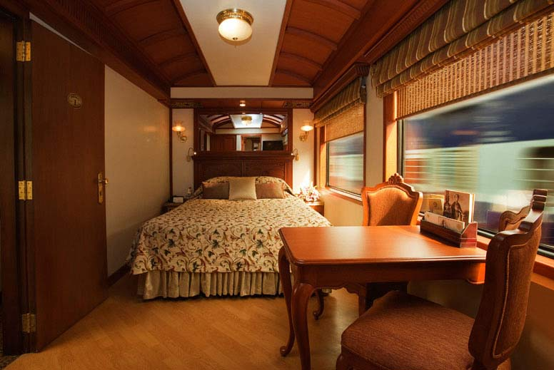 Inside View of Maharaja Express