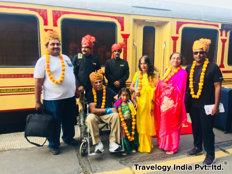 Palace on Wheels Guests