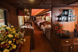 Decor of the Luxury Train