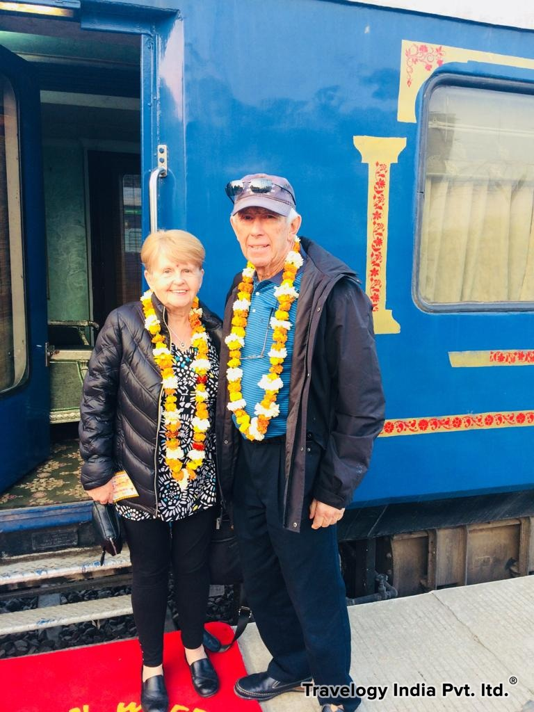 Our Guests of Palace on Wheels