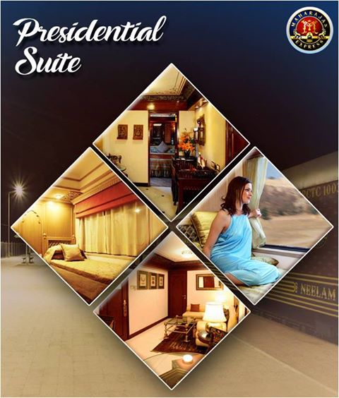 Presential Suite of Maharajas Express