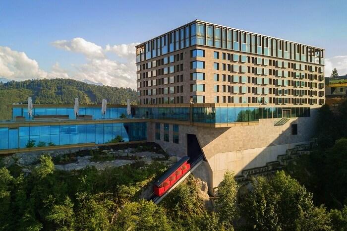 Burgenstock Hotel, Lucerne, Switzerland