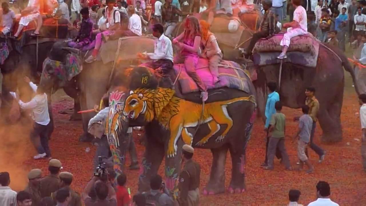 Holi in Jaipur