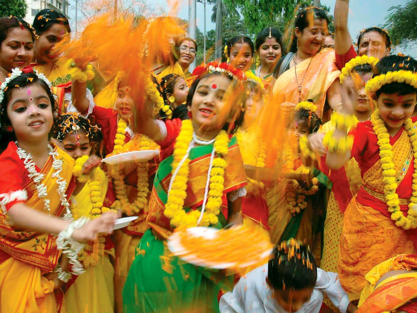 Holi in Purulia, West Bengal