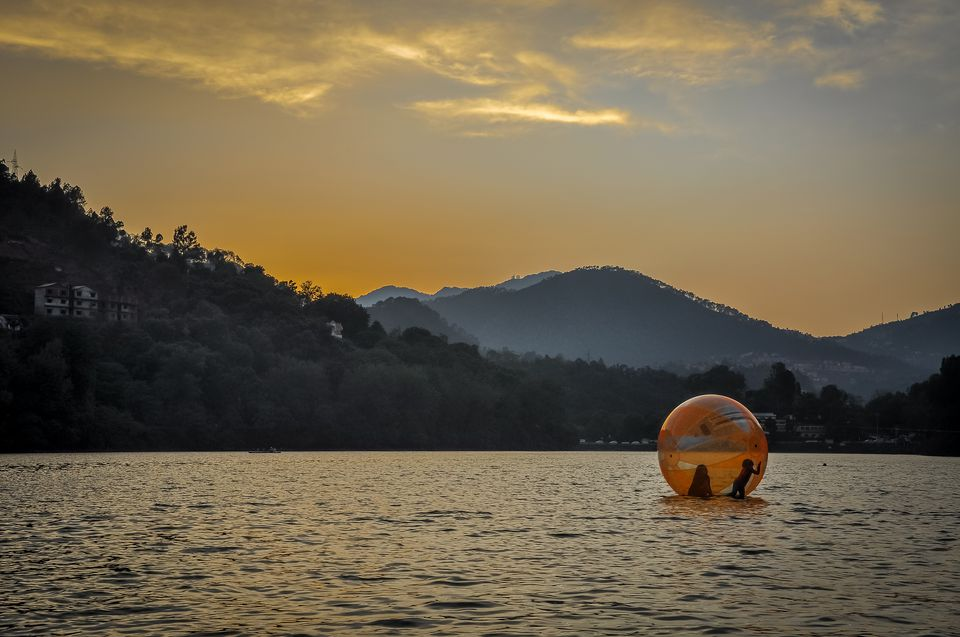 Water Sports at Bhimtal Lake