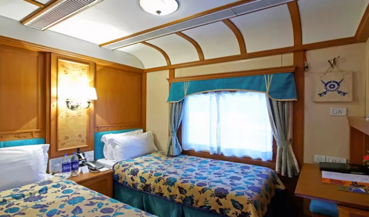 Background of the Deccan Odyssey Luxury Trains