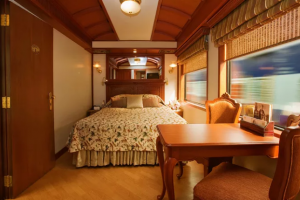 Background of the Maharajas Express