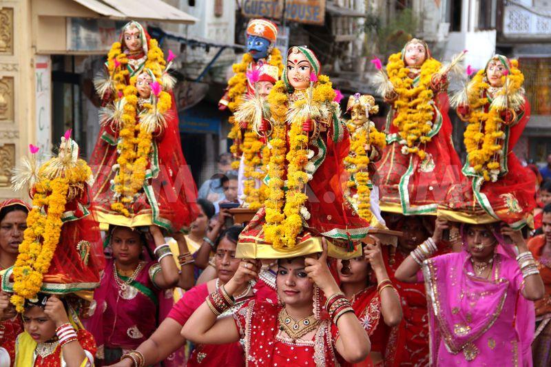 Gangaur Festival in Rajasthan