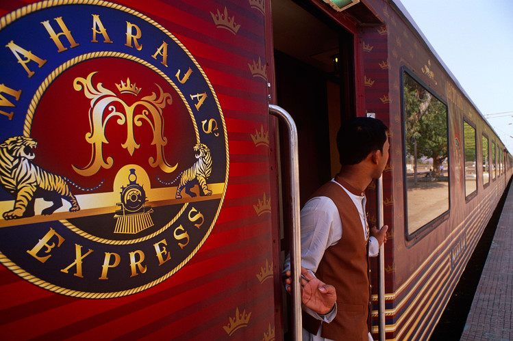 Coaches of the Maharaja Express