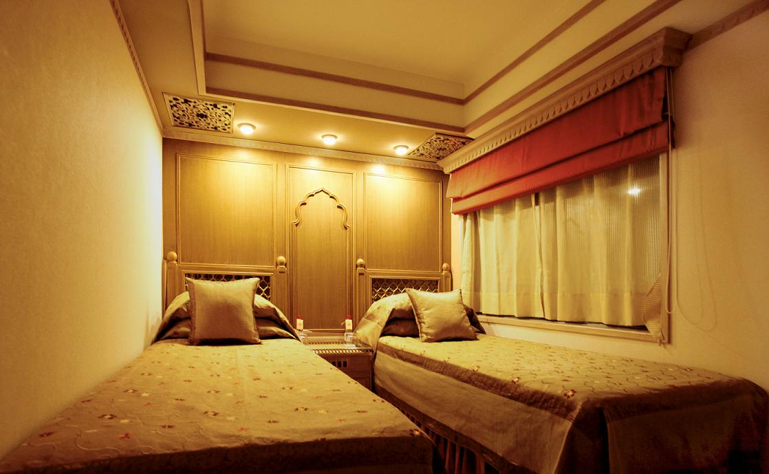 Interior of the Maharajas Express