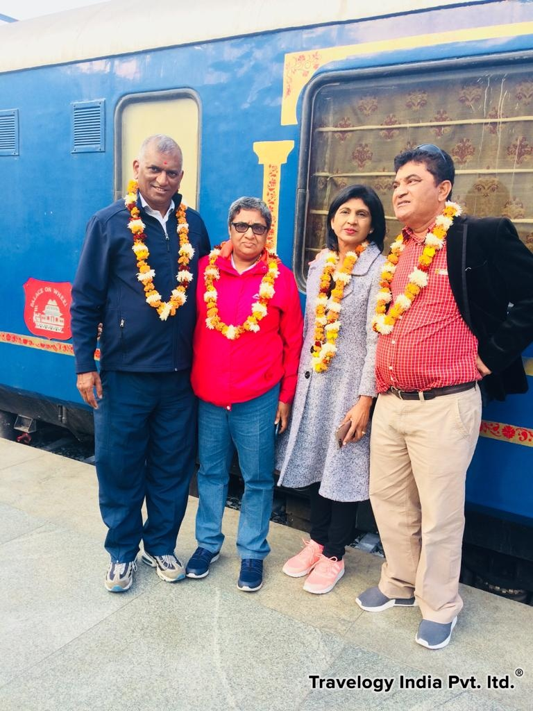 Our Palace on Wheels Guests
