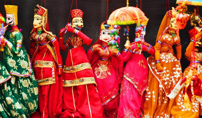 Puppet shows in Jaisalmer