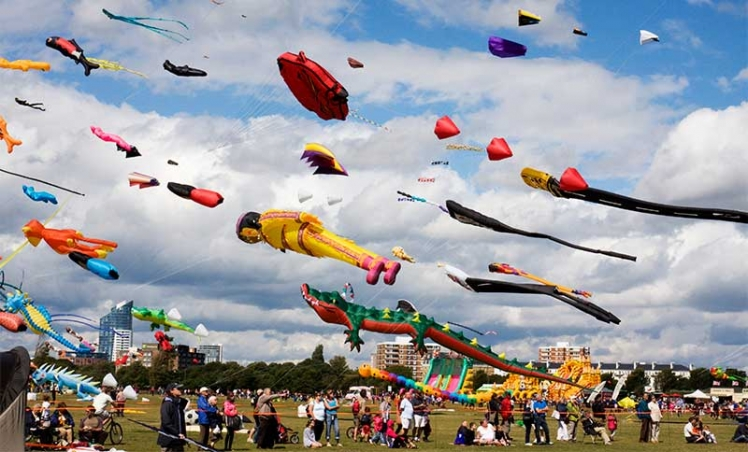International Kite Festival, Ahemdabad