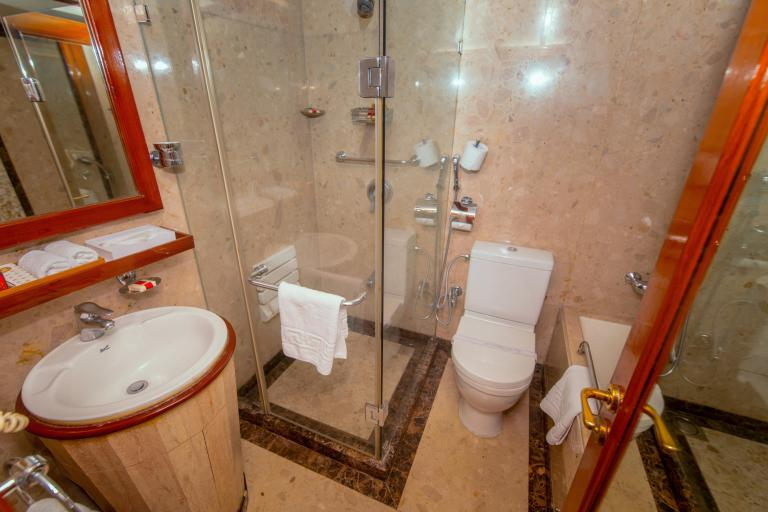 Maharajas Express Train Suite Bathroom