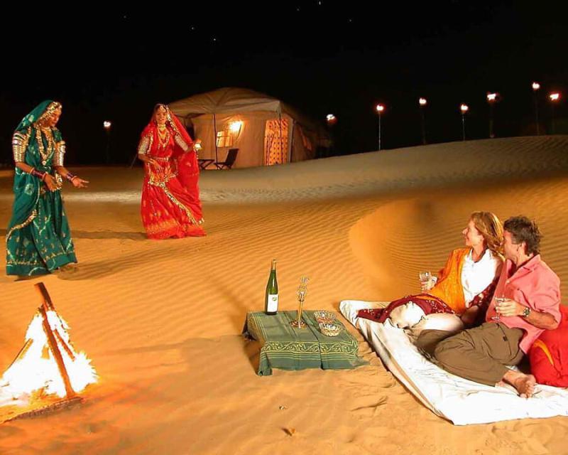 Sand Dunes in Jaisalmer