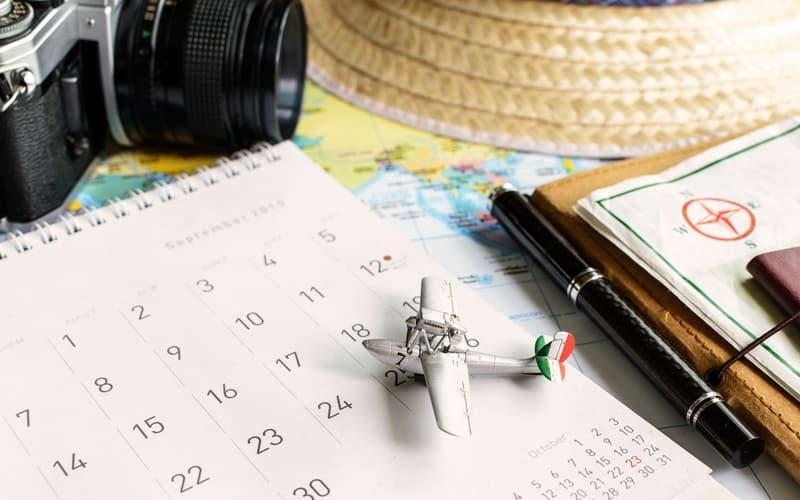 Travel Calender