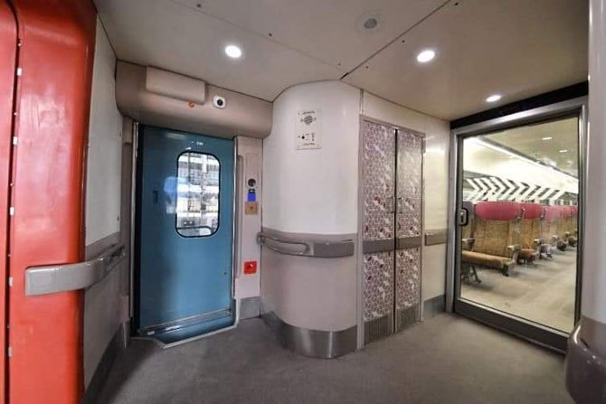 Train 18 Automatic Doors