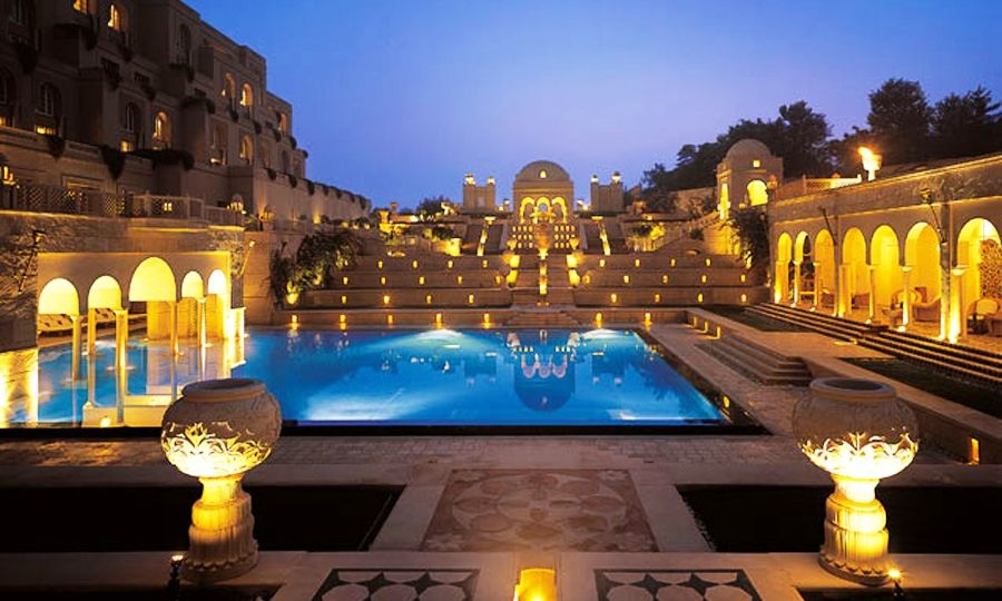 Bathe like a King Oberoi Amarvilas Agra
