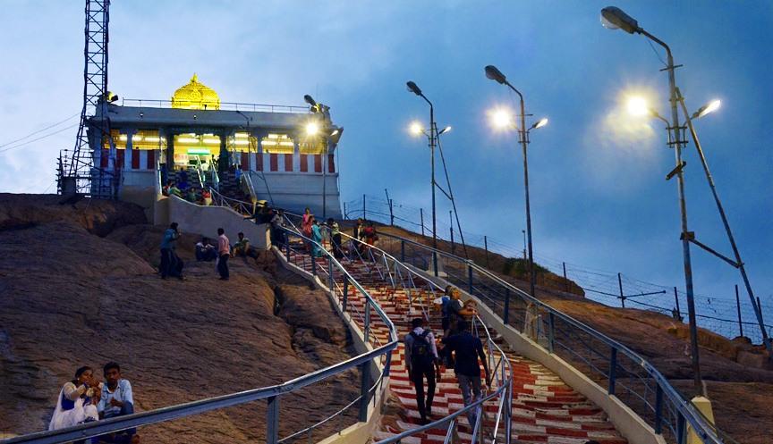 Trichy Rock Fort Temple, Tamil Nadu