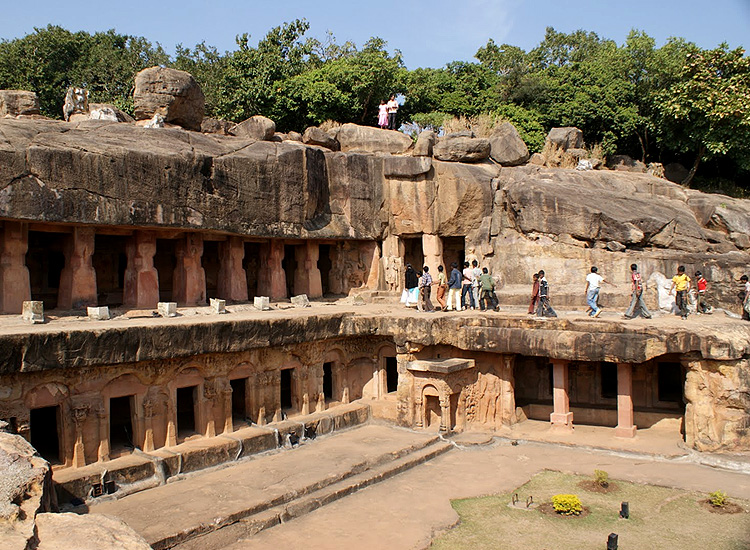 Udayagiri and Khandagiri Caves, Orissa