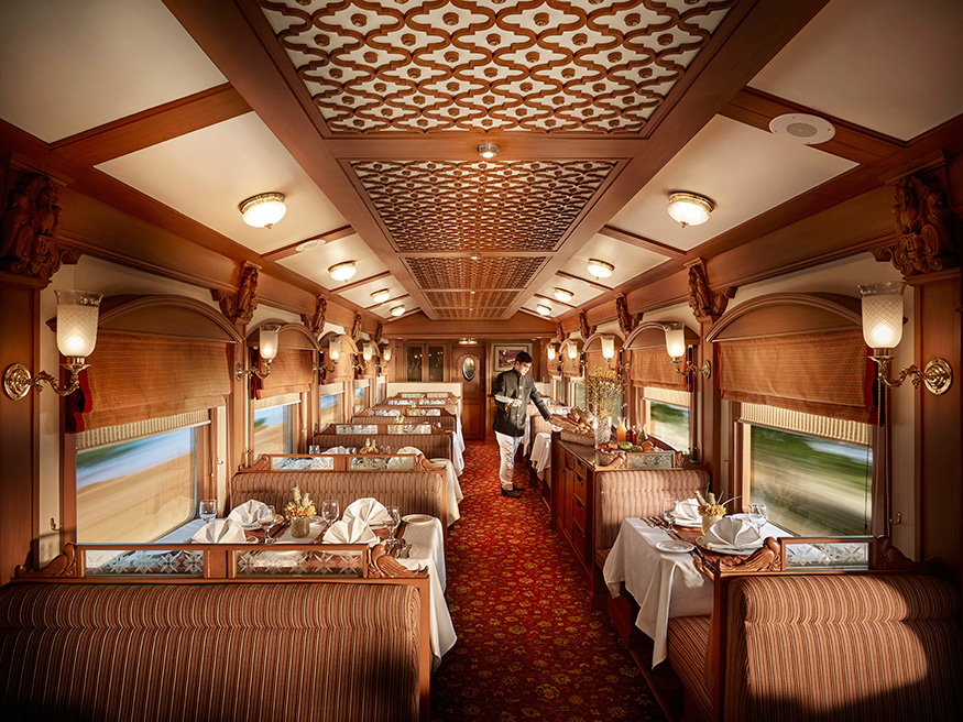Deccan Odyssey Train Restaurant