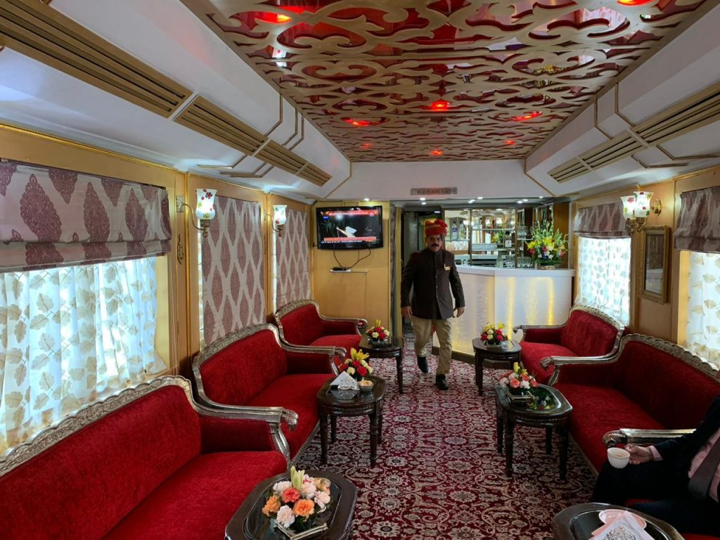 Palace on Wheels Lounge