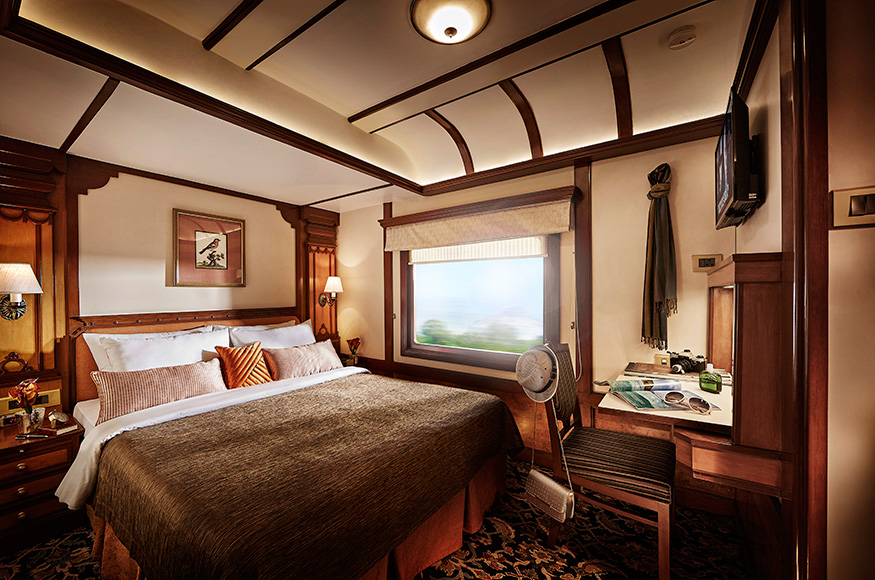 Presidential Suite of Deccan Odyssey