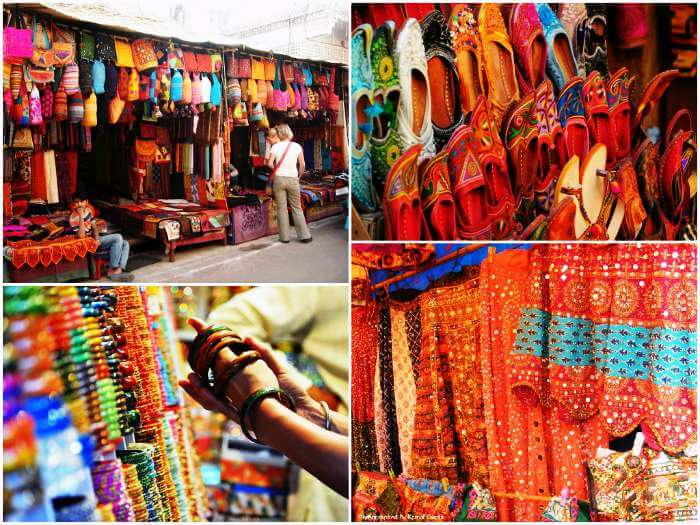 Shopping destinations of Jaipur