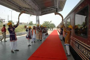 welcome of Maharajas Express