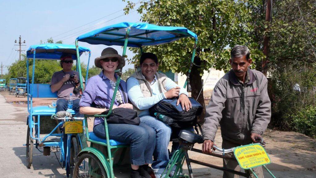 Cycle Rickshaw Ride at Bharatpur National Park
