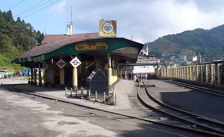 Ghum Railway Station Bengal