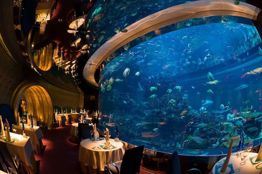 Underwater Restaurant at Burj Al Arab, Dubai
