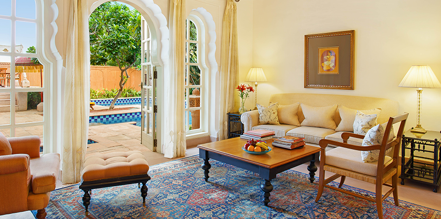 Oberoi Rajvilas, Jaipur - Luxury Vilas with Private Pool