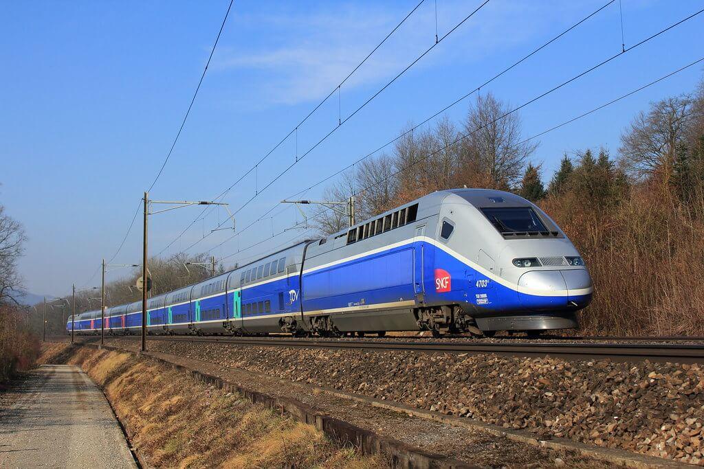 SNCF TGV Duplex train