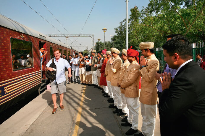 Maharajas Express journey comes to an end