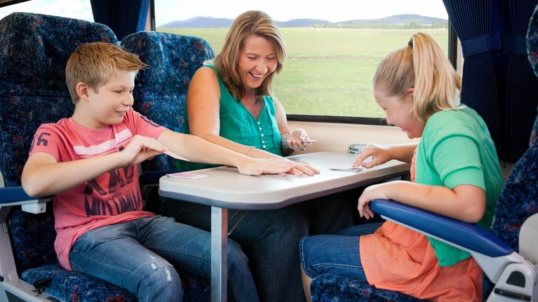 family-playing-in-train