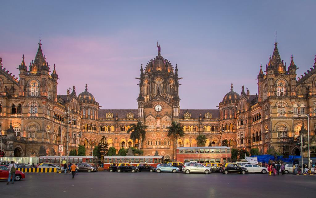 ChhatrapatiShivaji Terminus Railway