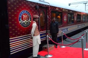 El tren de lujo de los maharajáes