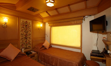 Maharajas' Express Deluxe Cabin Images