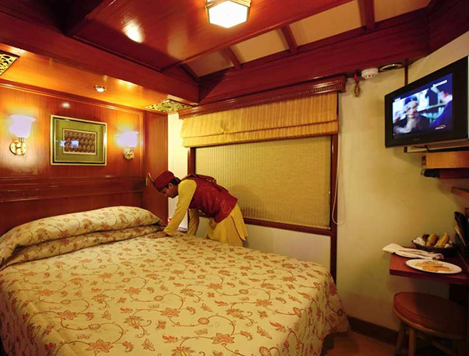 Maharajas' Express Train Deluxe Cabin
