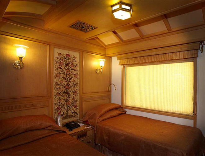 Deluxe Cabin of Maharajas Express