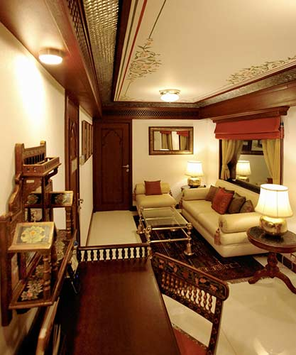 Maharajas' Express Presidential Suite fare