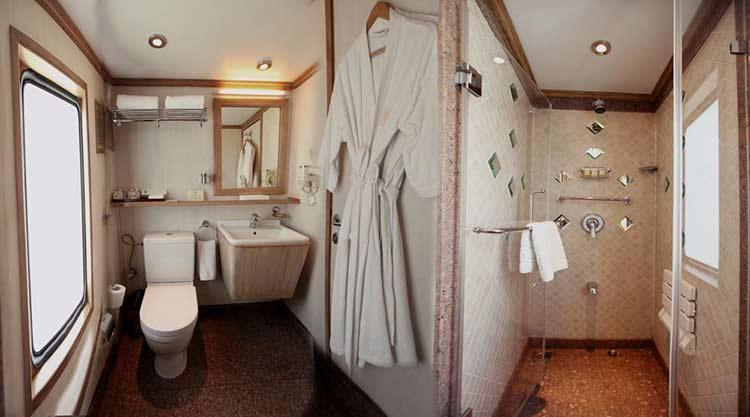 Maharajas' Express Presidential Suite cabin