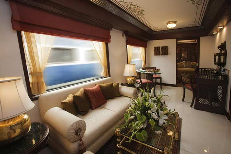 Maharajas Express Presidential Suite Cabin
