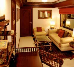 Presidential Suite of Maharajas' Express