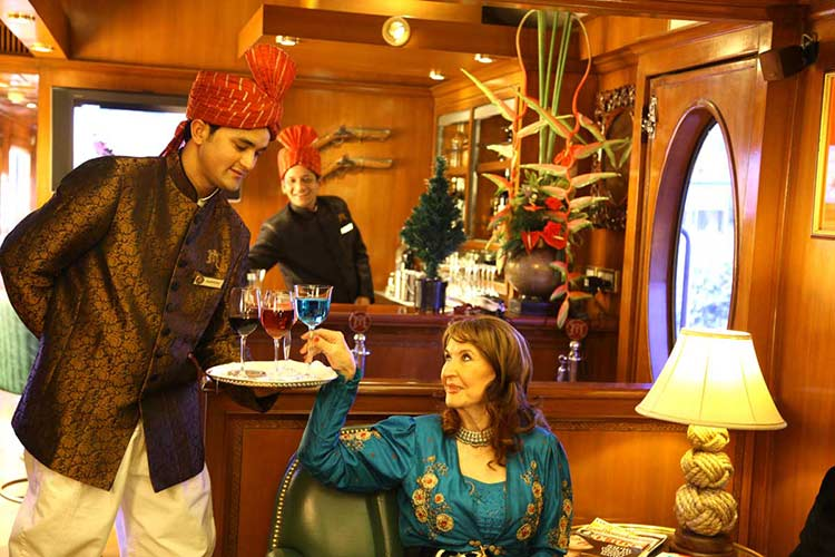Maharajas' Express Lounge bar