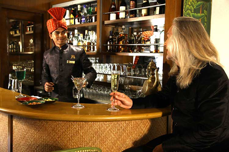Maharajas' Express Safari Bar Images