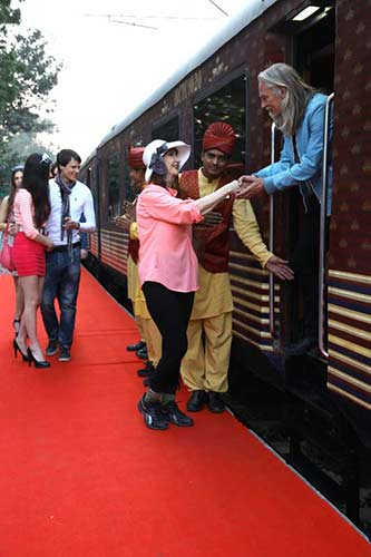 Maharajas' Express Train Exterior Images Gallery