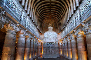 Explore Ajanta Caves through Maharaja Express